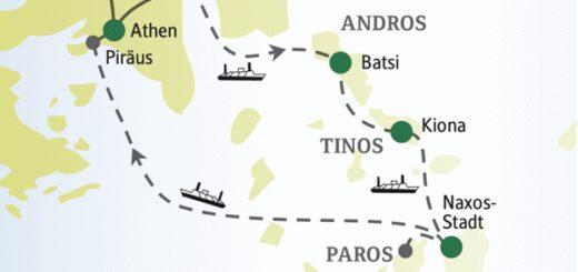 Entdecken Sie die Highlights der griechischen Inselwelt mit anderen weltoffenen Singles und Alleinreisenden