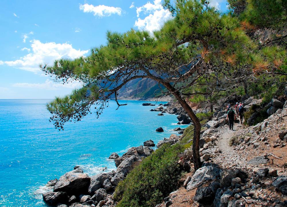 Küstenwanderung nach Agia Roumeli - Inge Trefz