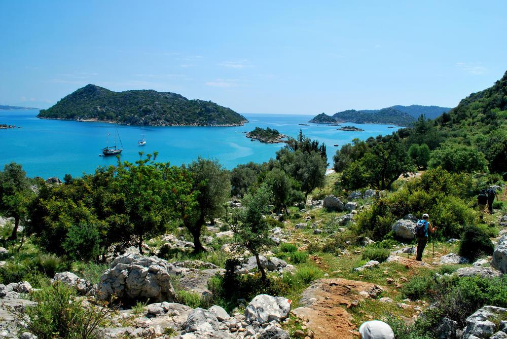 Die Kapakli-Bucht bei Kekova - Caria Pan Travel