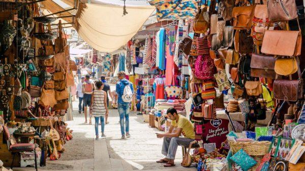 Marokkanische Basar