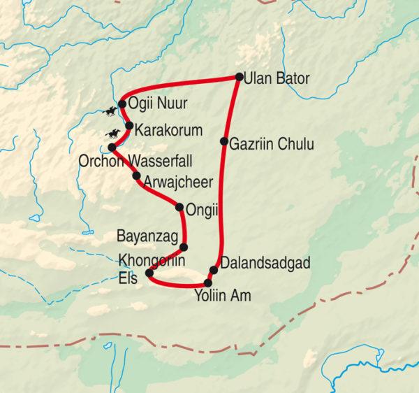 Jeep, Pferd & Kamel - Mongolei erleben