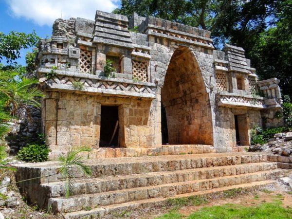 Maya Tempel in Yucatan