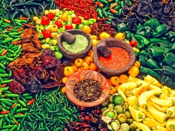 Gemüseangebot auf dem Markt