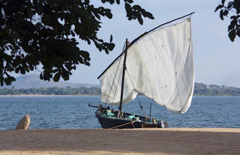 Dhow auf dem Malawisee