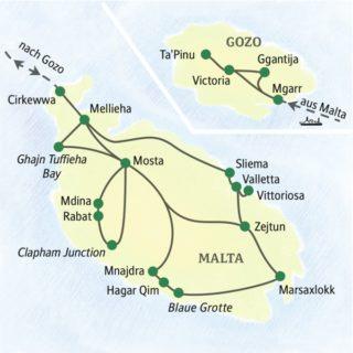 Die Höhepunkte Maltas von nur einem Standort aus
