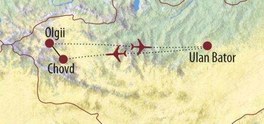 Karte Reise Mongolei Ins Reich der Schneeleoparden 2019