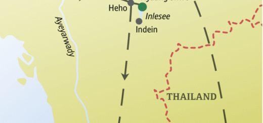Reise zu den Höhepunkten von Myanmar mit anderen weltoffenen Singles und Alleinreisenden