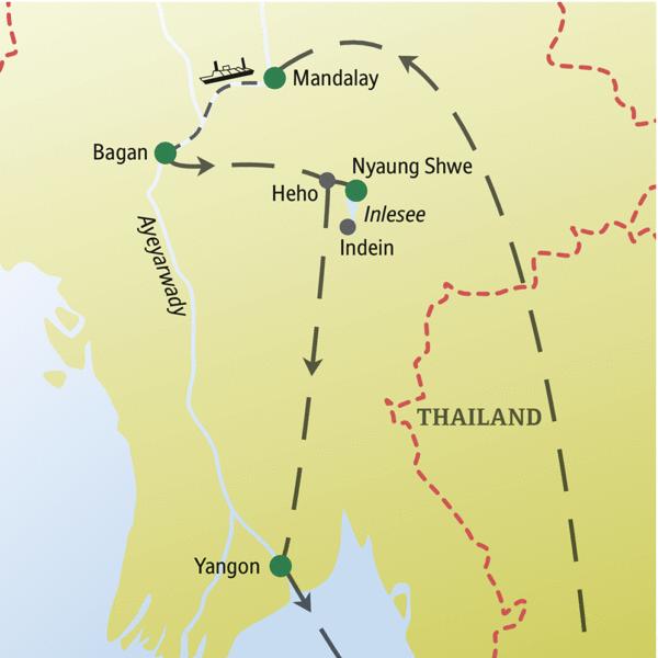 Myanmar Rundreisen für Alleinreisende 2019/2020