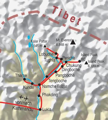 Everest Basecamp & Island Peak Trek