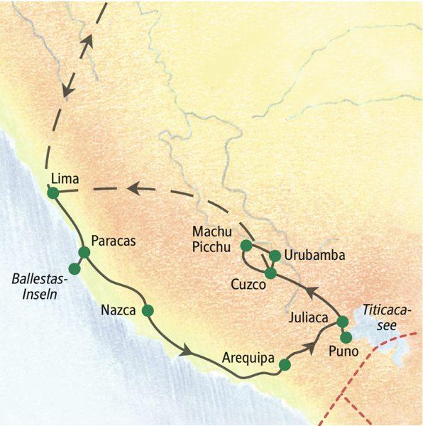 Peru gefuehrte Rundreisen 2019