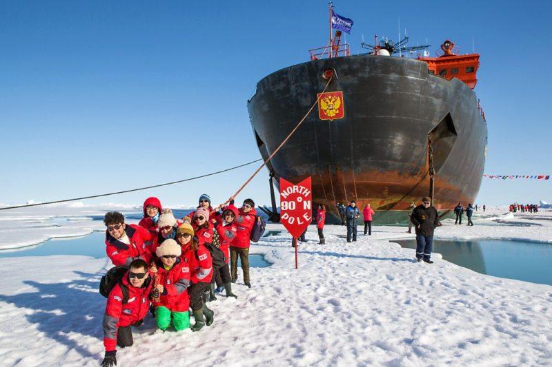Fotospiele am Nordpol