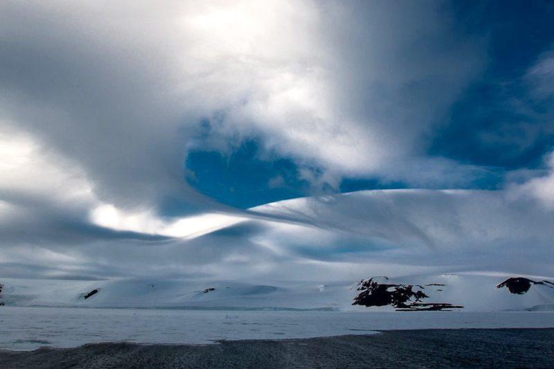 Beeindruckende Wolkenformationen