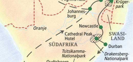 Die schönsten Naturlandschaften Südafrikas