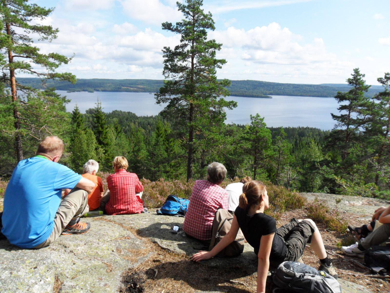Die Wildnis berühren Gruppenreise