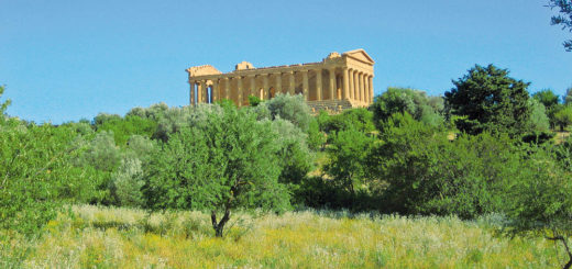 Concordia Tempel im Tal der Tempel bei Agrigento - Peter Dommermuth
