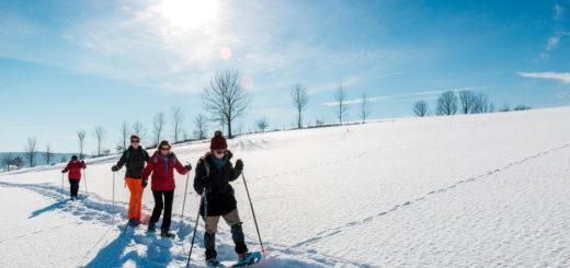 Unterwegs mit Schneeschuhen - Klaus Hoffmann