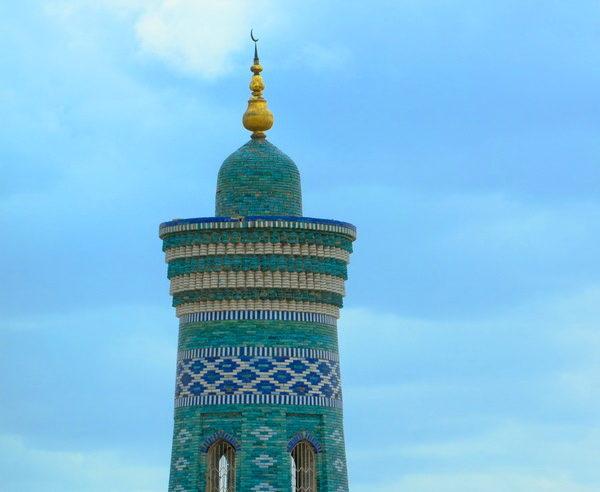 Minarett in Chiwa