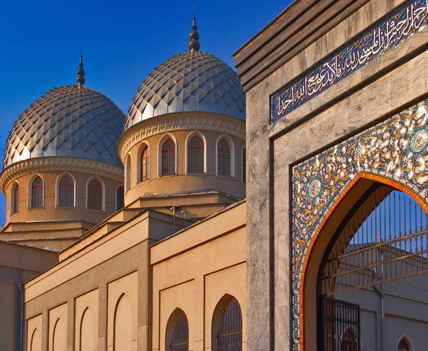 Märchenhafte Moschee in Taschkent