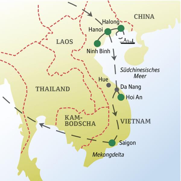 Vietnam Rundreisen für Alleinreisende 2019/2020