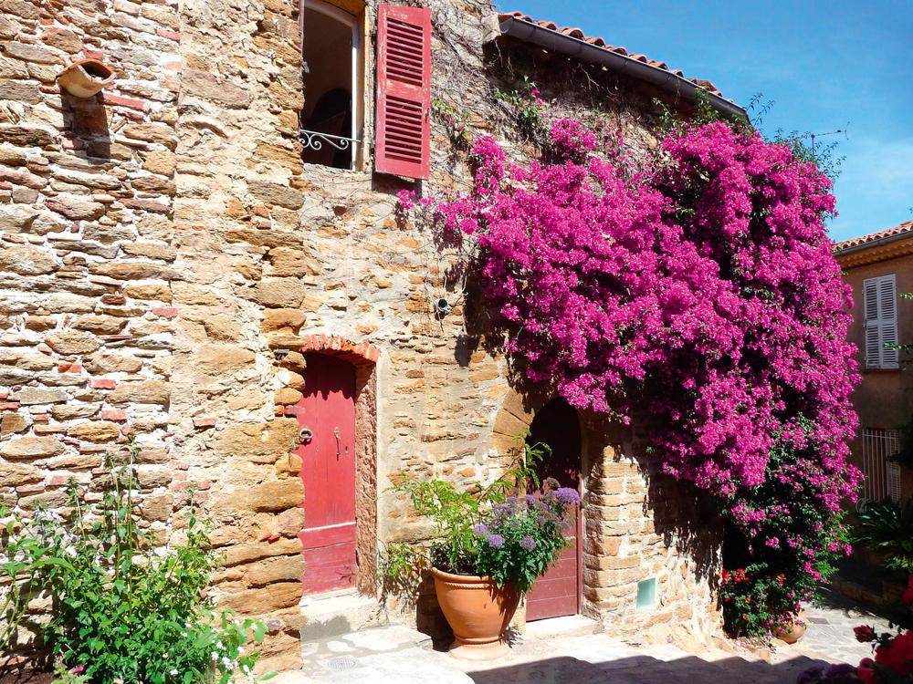 Pittoresk: Haus in Bormes-les-Mimosas - Susanne Barton