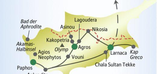 Entdecken Sie die Highlights von Zypern mit anderen weltoffenen Singles und Alleinreisenden