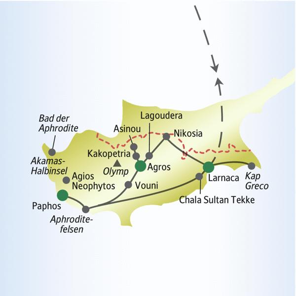 Zypern Rundreisen für Alleinreisende 2019/2020