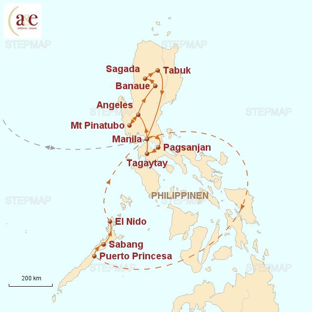 Vulkane Philippinen Karte.Philippinen Gruppenreise 6 Rundreisen Erlebnisreisen 2019 2020