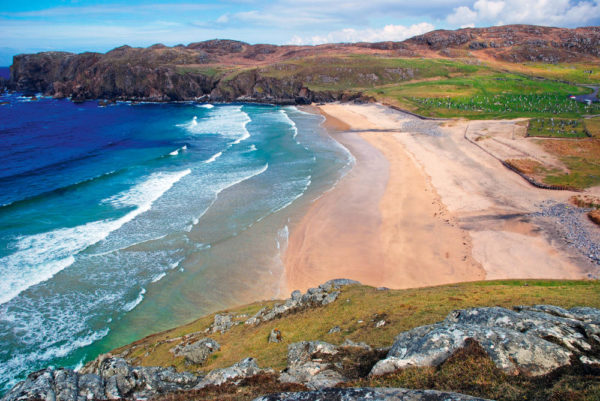 Strandidylle auf den Äußeren Hebriden - Gerd Thiel
