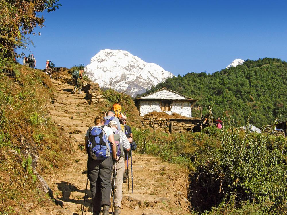 Annapurna Wandergruppe - Jürgen Kalmbach