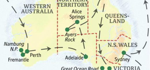 Unsere ausführlichste Studienreise nach Australien