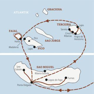 Reise zu den Vulkaninseln im Atlantik