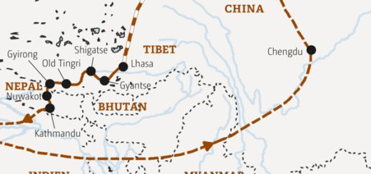 18 Tage Transhimalaya-Reise von China über Tibet bis nach Nepal