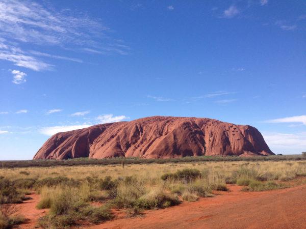 Unterwegs am Uluru / Ayers Rock - Katharina Reiter