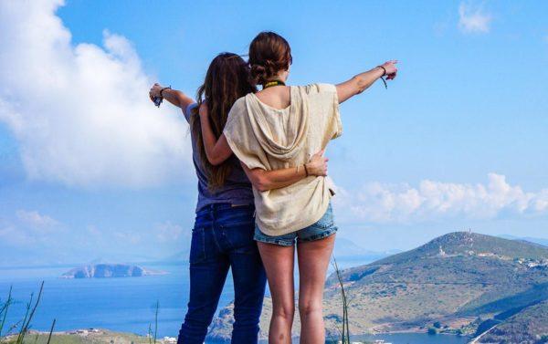 Blick über Patmos