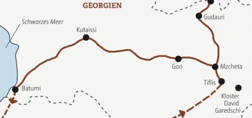 Rundreise durch Georgien in neun Tagen