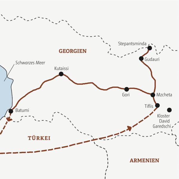 Georgien Rundreisen 2016 / 2017