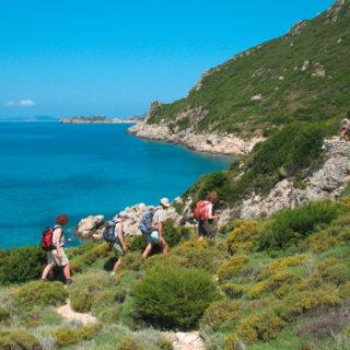 Wanderung bei Agios Georgios - Archiv