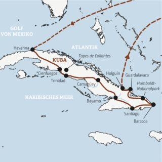 Koloniale Rundreise – Highlights in Havanna