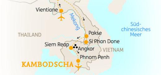 Rundreise Laos & Kambodscha: Mit Flair 2019 | Erlebnisrundreisen.de