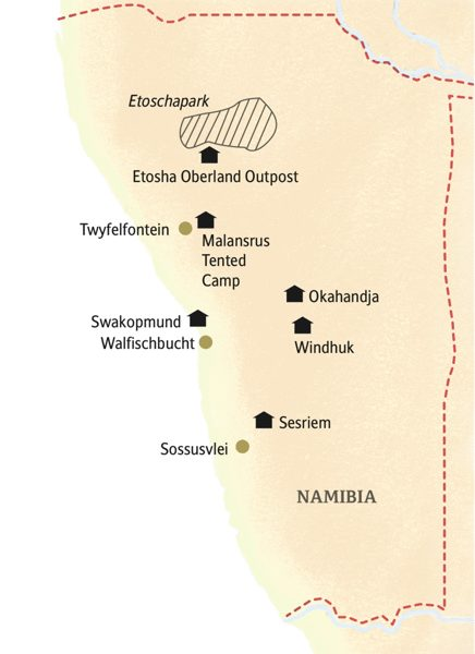 Namibia deutschsprachig gefuehrte Studienreisen 2019