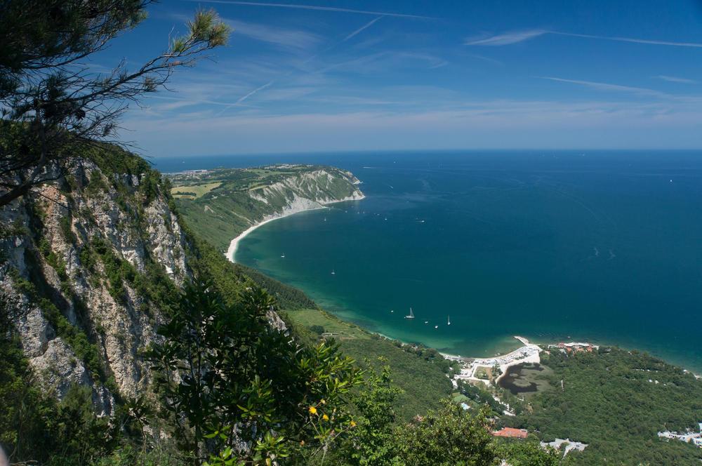 Blick vom Monte Conero - Günter Sachs