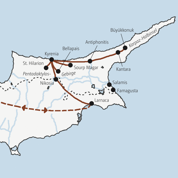 Nordzypern Rundreisen 2016 / 2017