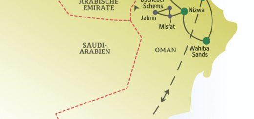 Singleurlaub zwischen Oasenstädten im Oman und tropisches Feeling im Weihrauchland Dhofar im Süden