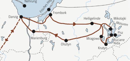 Rundreise durch Polens Norden: von Danzig zu den Seen Masurens in neun Tagen