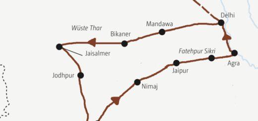 Kompakte Indien-Rundreise zu den Höhepunkten Rajasthans