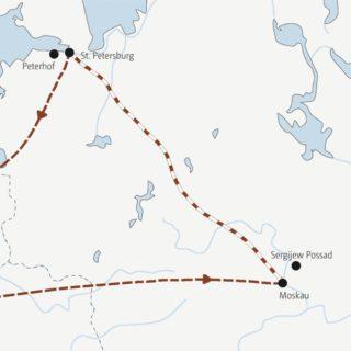 Die Metropolen Moskau und St. Petersburg erleben – Ihre einheimischen Scouts bringen Ihnen die Seele Russlands näher