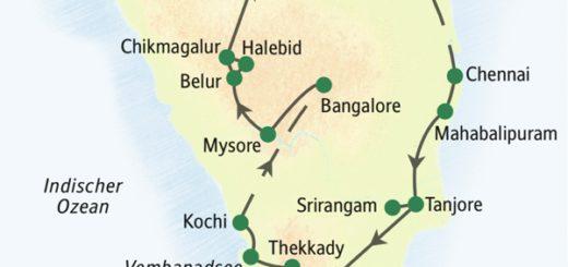 Indien – der Süden: alle Höhepunkte indischer Tempelbaukunst mit zahlreichen UNESCO-Welterbestätten