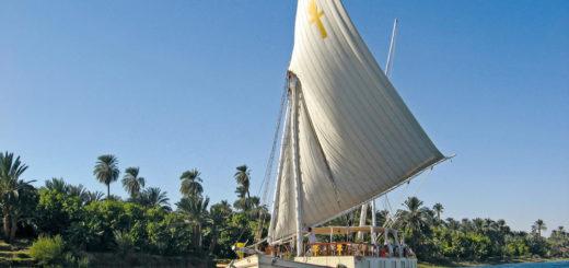 Segelschiff Ankh auf dem Nil - Sameh Milad