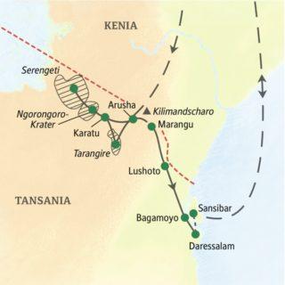 Die weltberühmten Nationalparks Tansanias