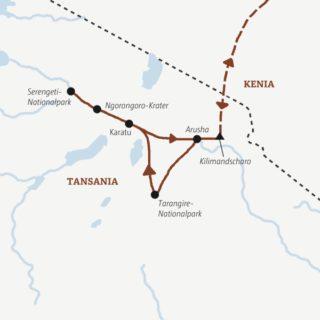 Jede Menge Wildlife: zwölf Tage Ostafrika erleben
